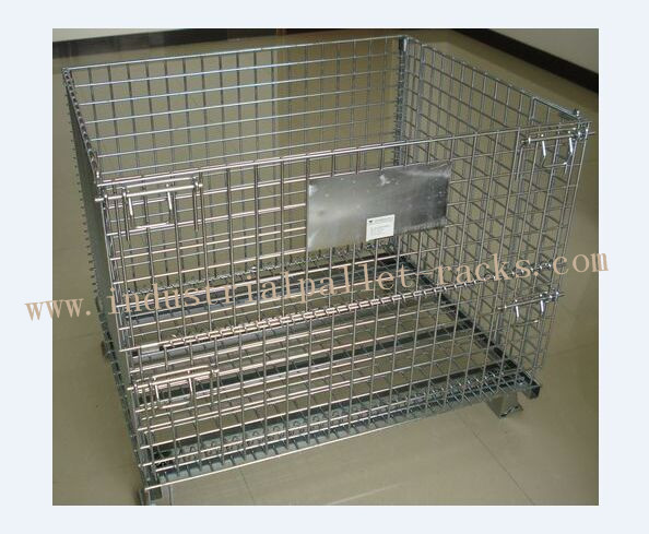 Vouwbare Opvouwbare Draad Cage1200 X 1000mm voor Pakhuis