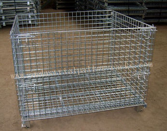 China Vouwbare Opvouwbare Draad Cage1200 X 1000mm voor Pakhuis leverancier